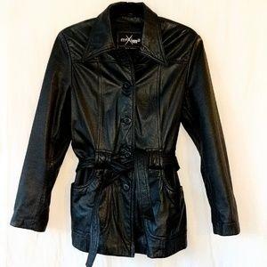 Maxima Wilson's leather black jacket sz Med